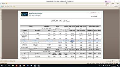 برنامج محاسبة للمصانع