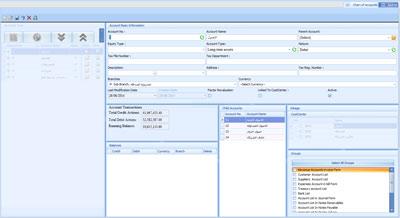 Corporate and enterprise public accounts program